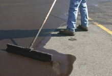 Asphalt Sealcoating - Precision Striping & Sealcoating - call (908) 362-5414 - New Jersey